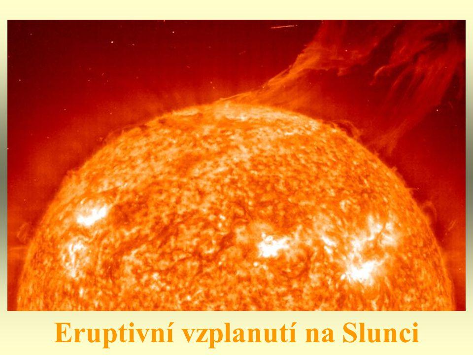 Eruptivní vzplanutí na Slunci