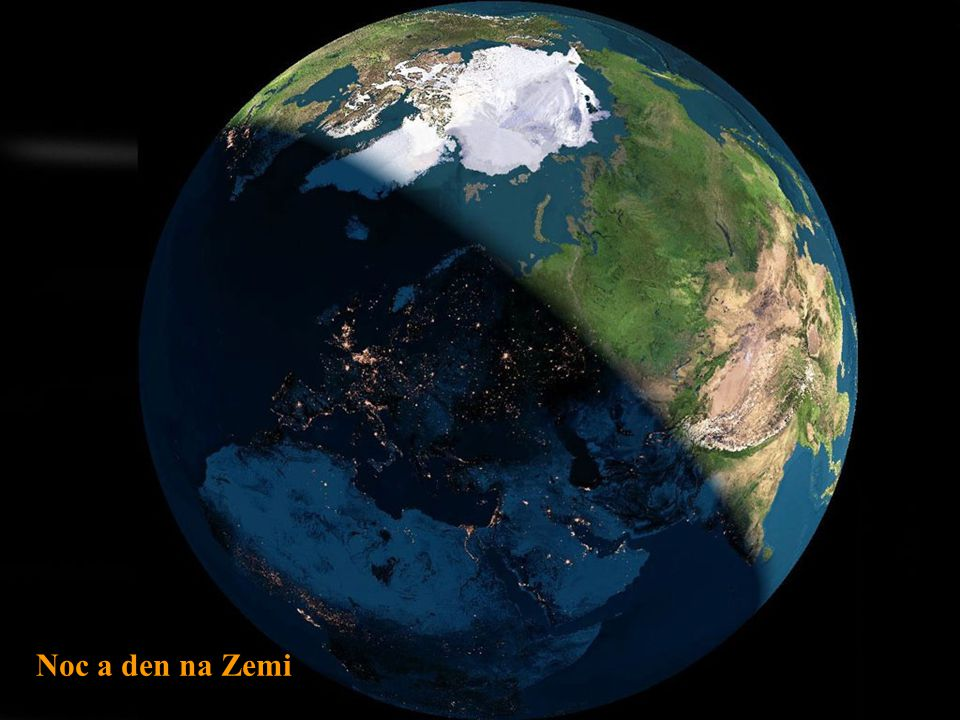 Noc a den na Zemi