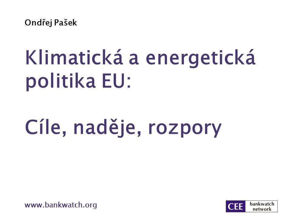 Klimatická a energetická politika EU: