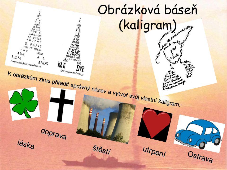 Obrázková báseň (kaligram)