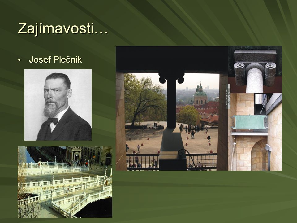 Zajímavosti… Josef Plečnik