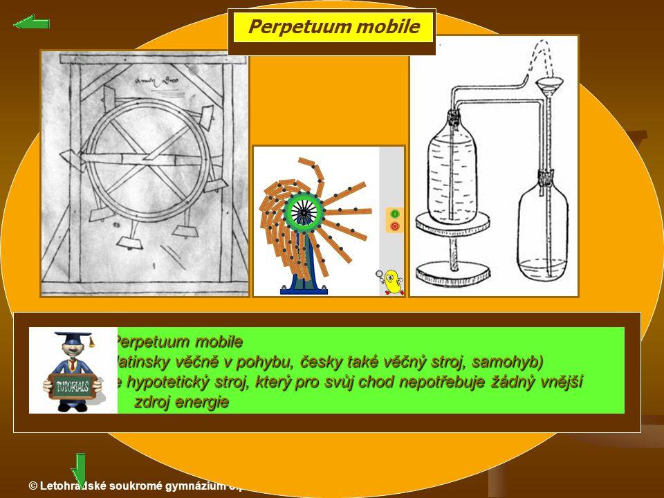 Perpetuum mobile Perpetuum mobile