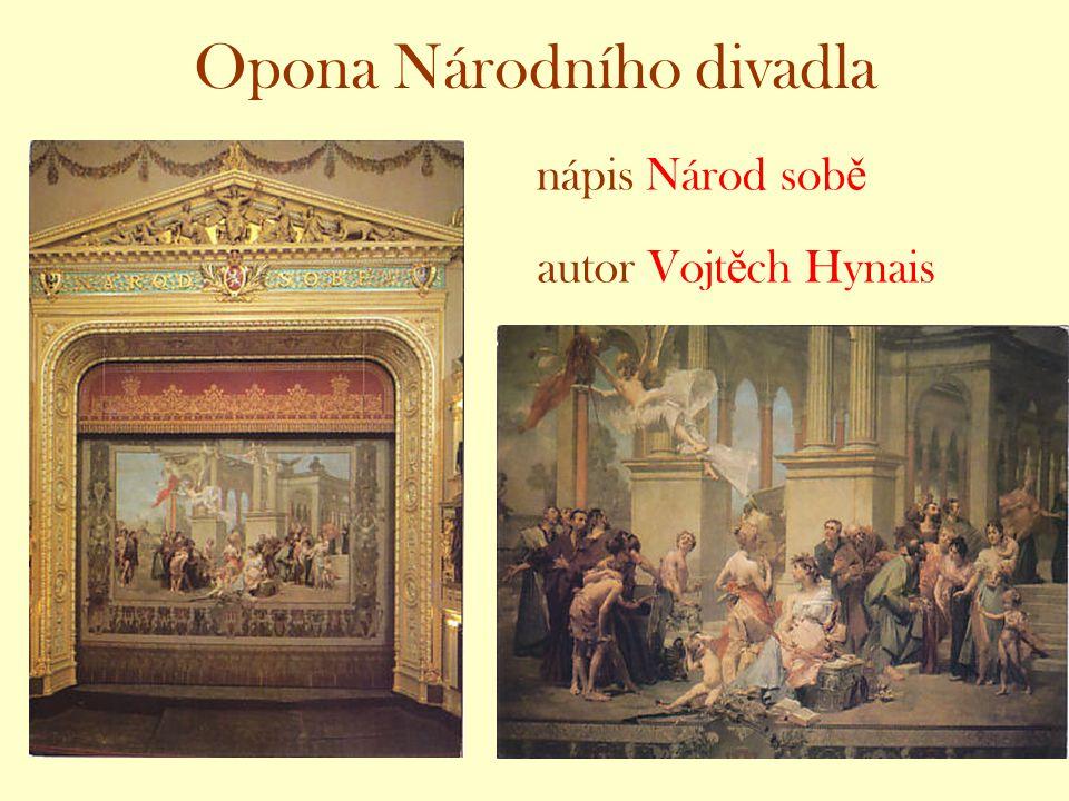 Opona Národního divadla