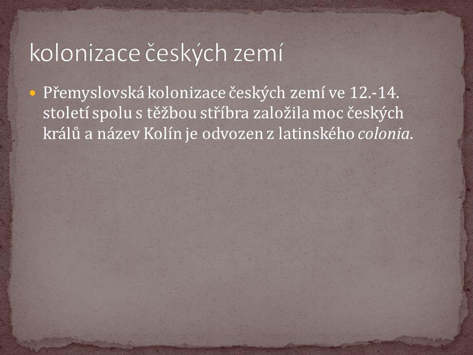 kolonizace českých zemí