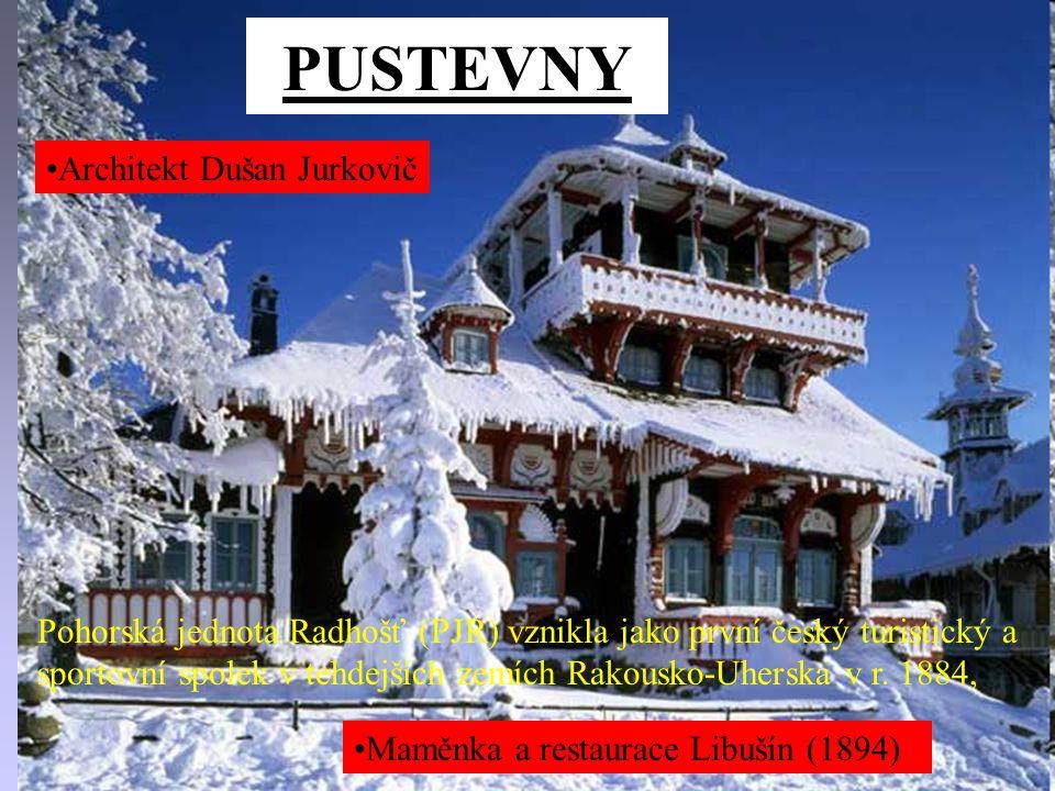 PUSTEVNY Architekt Dušan Jurkovič