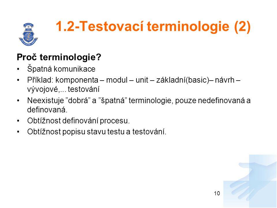 1.2-Testovací terminologie (2)