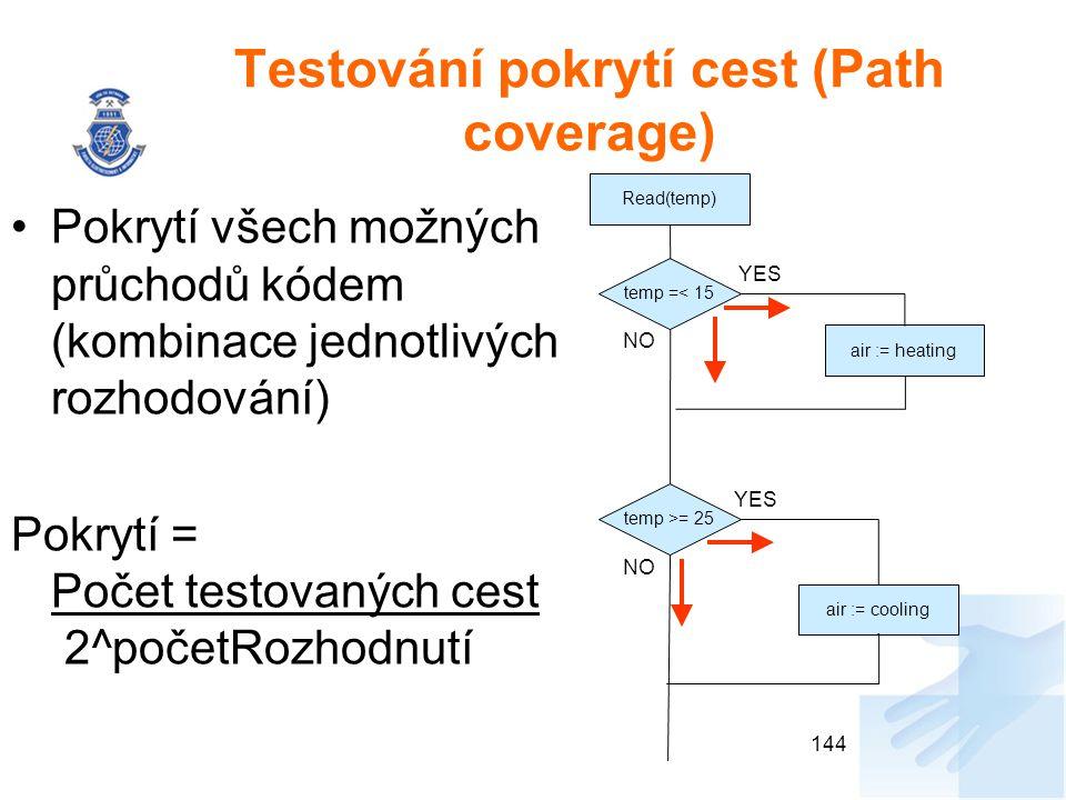 Testování pokrytí cest (Path coverage)