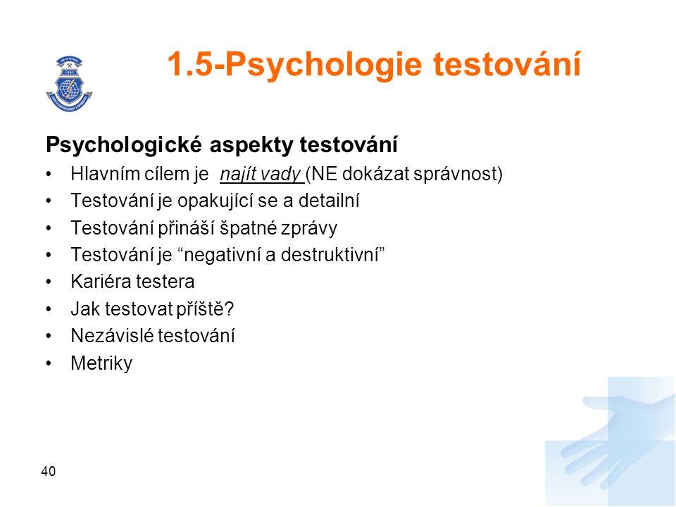 1.5-Psychologie testování