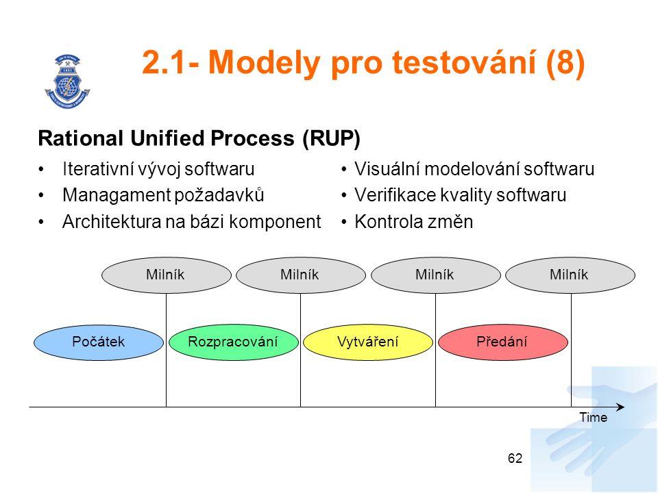 2.1- Modely pro testování (8)