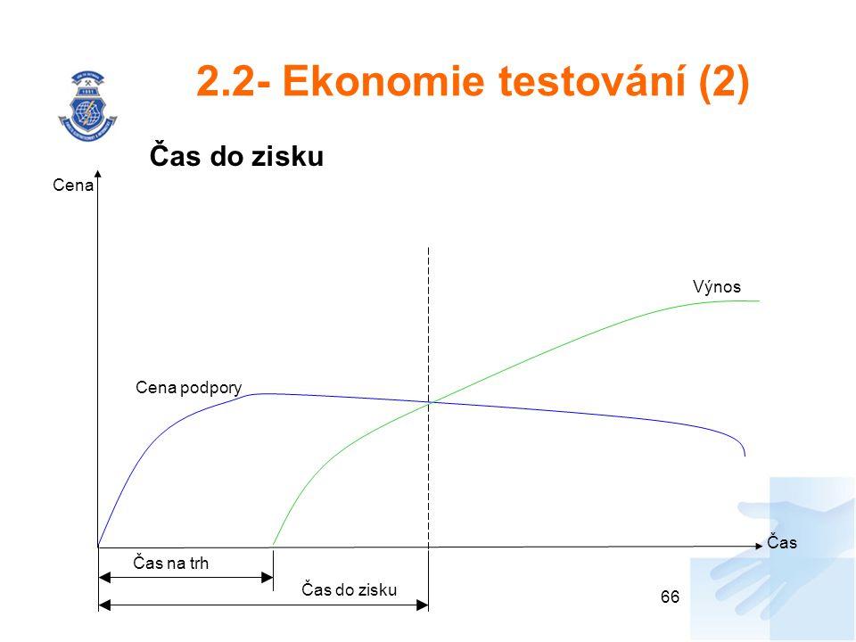 2.2- Ekonomie testování (2)