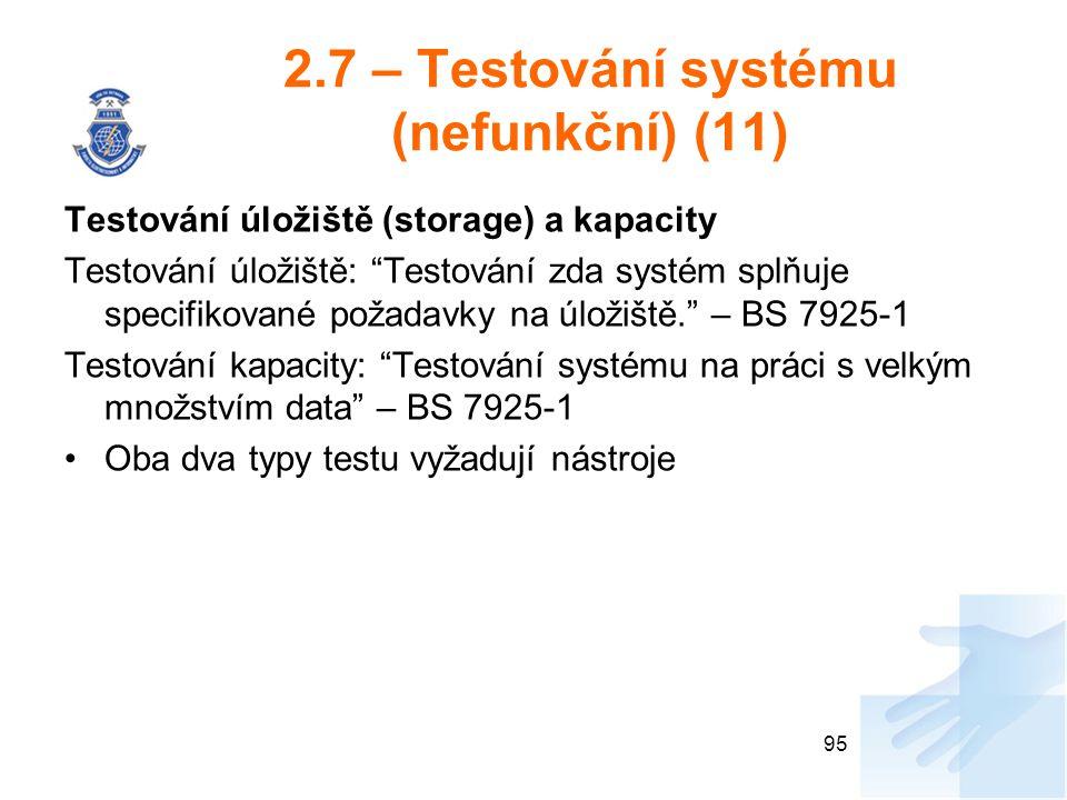 2.7 – Testování systému (nefunkční) (11)
