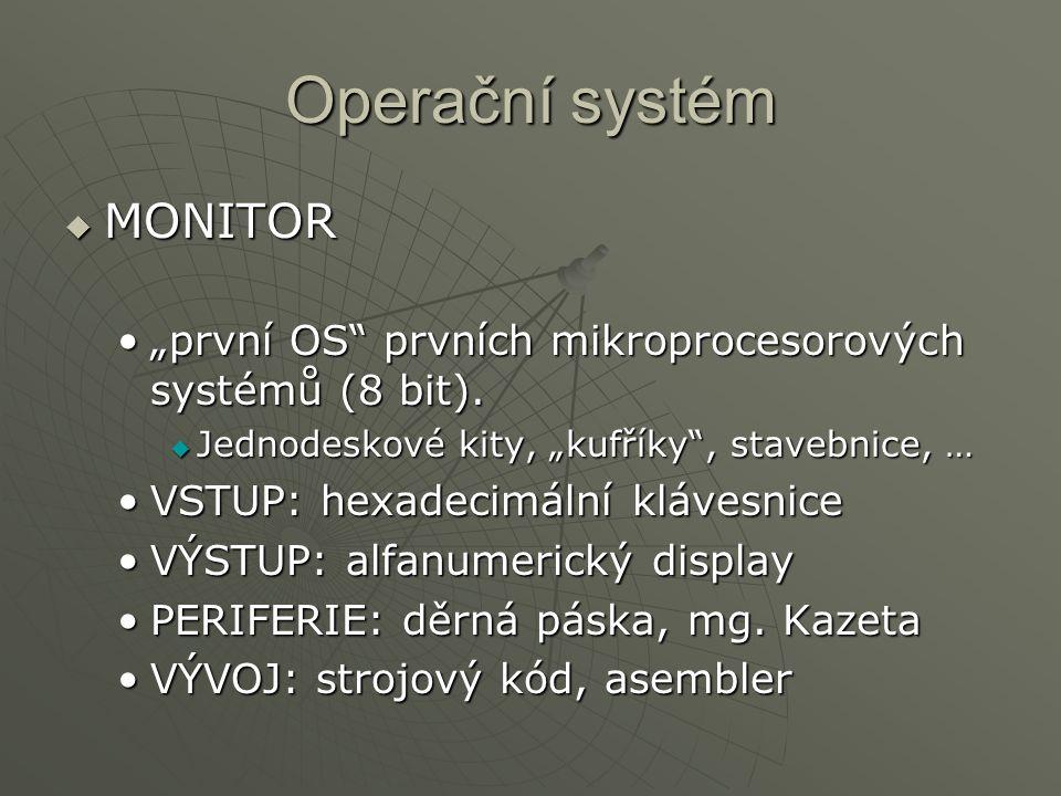 Operační systém MONITOR