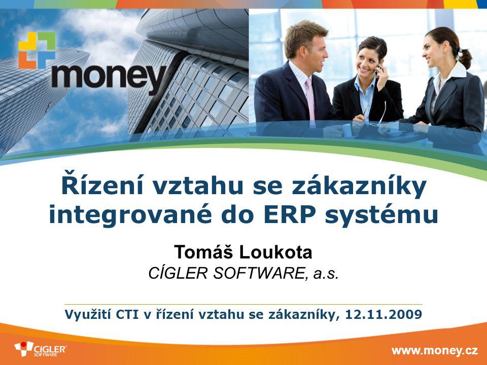 Řízení vztahu se zákazníky integrované do ERP systému