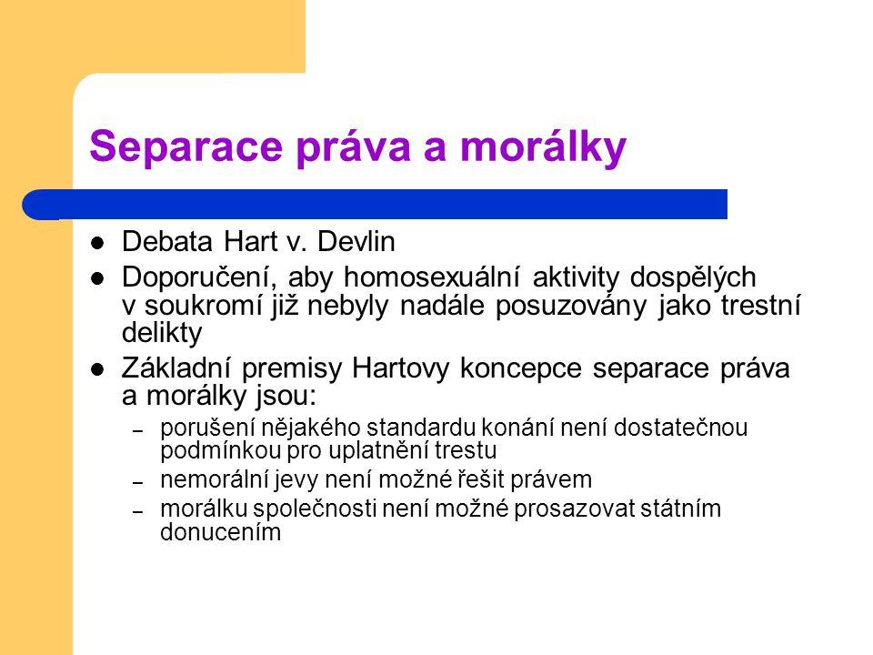 Separace práva a morálky