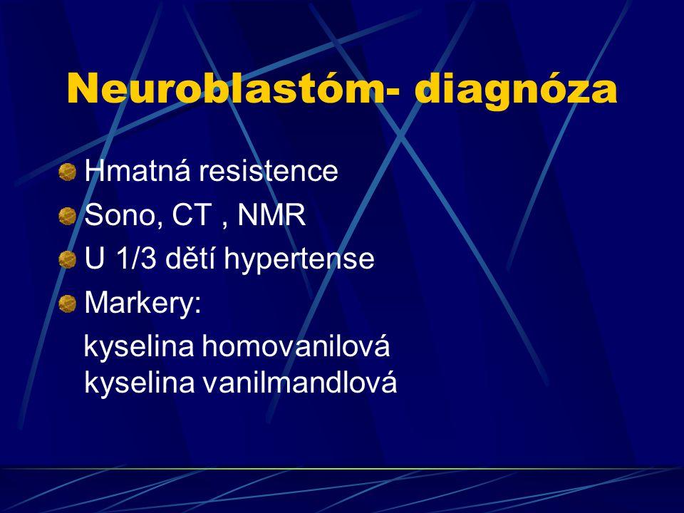 Neuroblastóm- diagnóza
