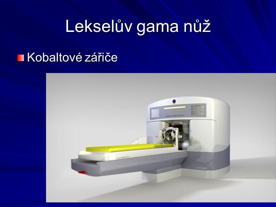 Lekselův gama nůž Kobaltové zářiče