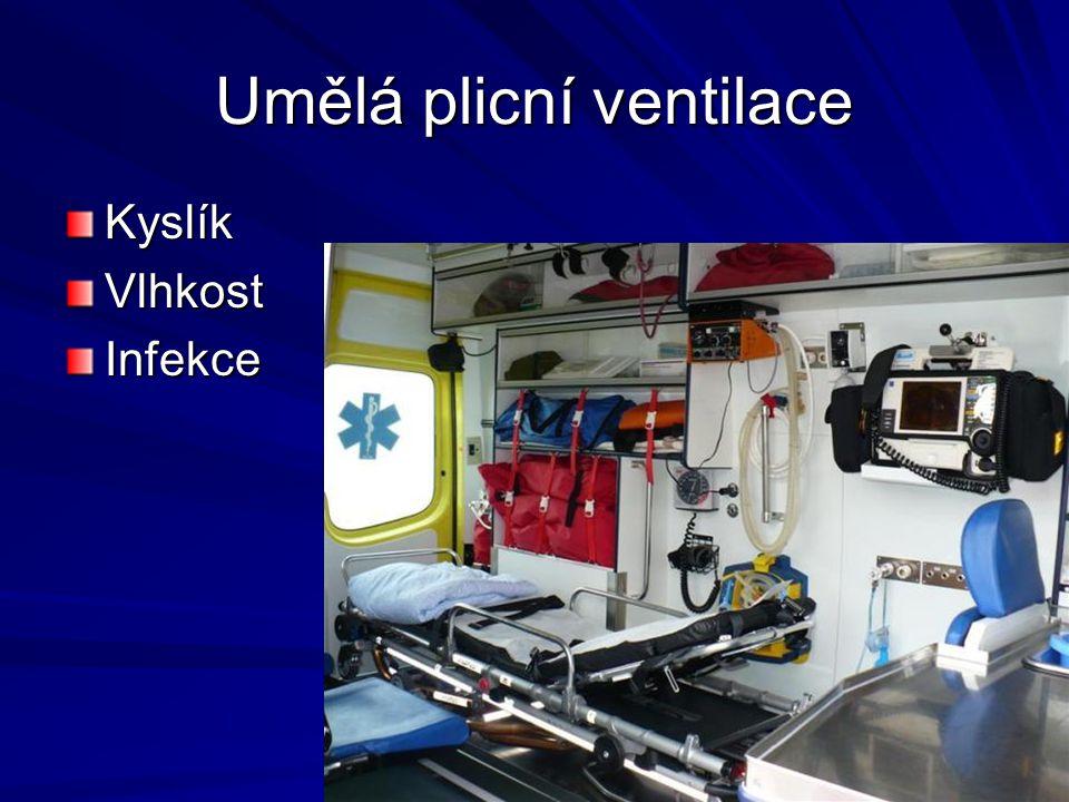 Umělá plicní ventilace