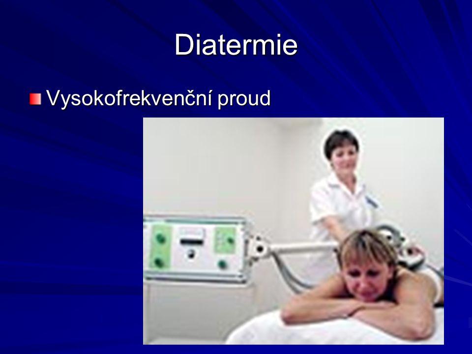 Diatermie Vysokofrekvenční proud
