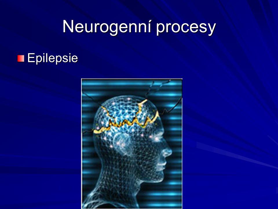 Neurogenní procesy Epilepsie