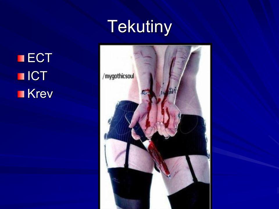 Tekutiny ECT ICT Krev