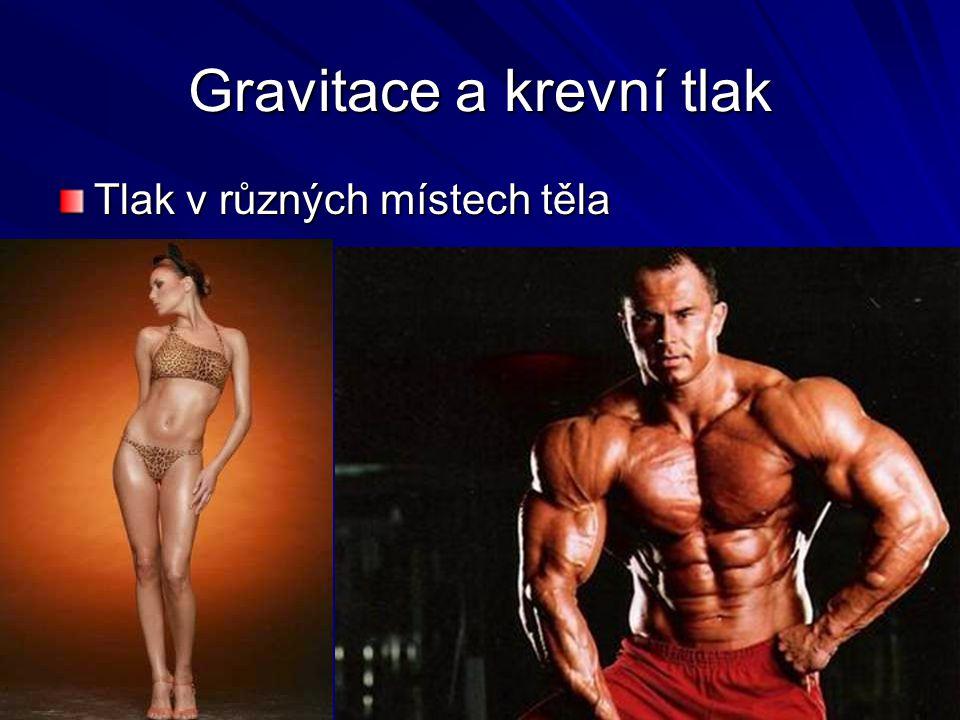 Gravitace a krevní tlak