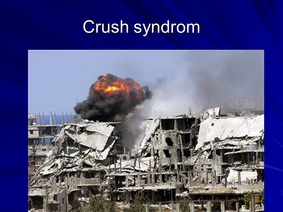 Crush syndrom