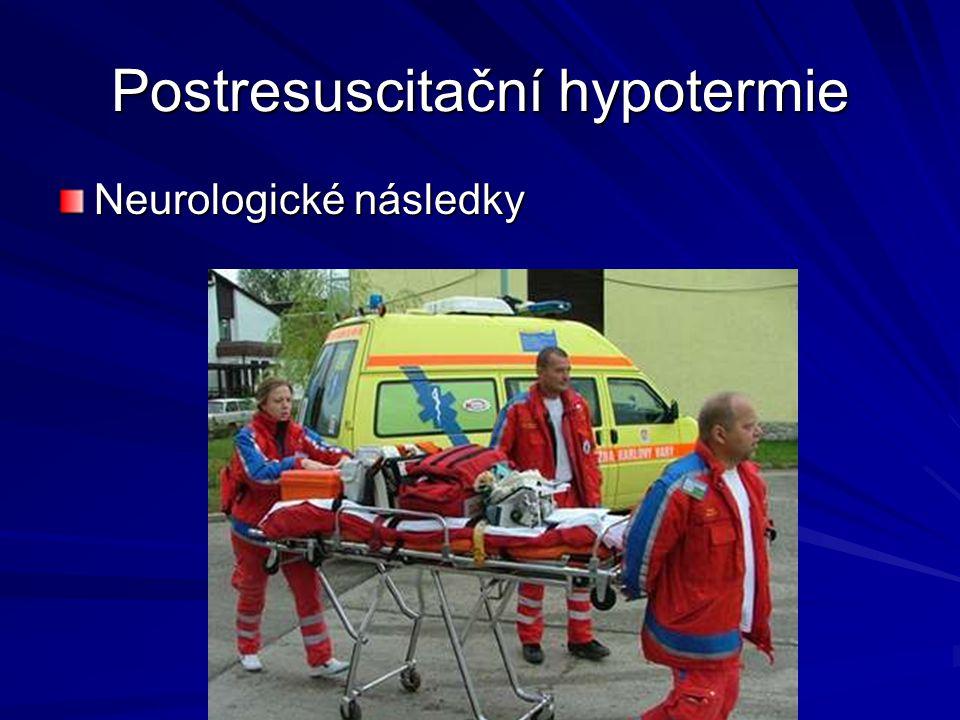 Postresuscitační hypotermie