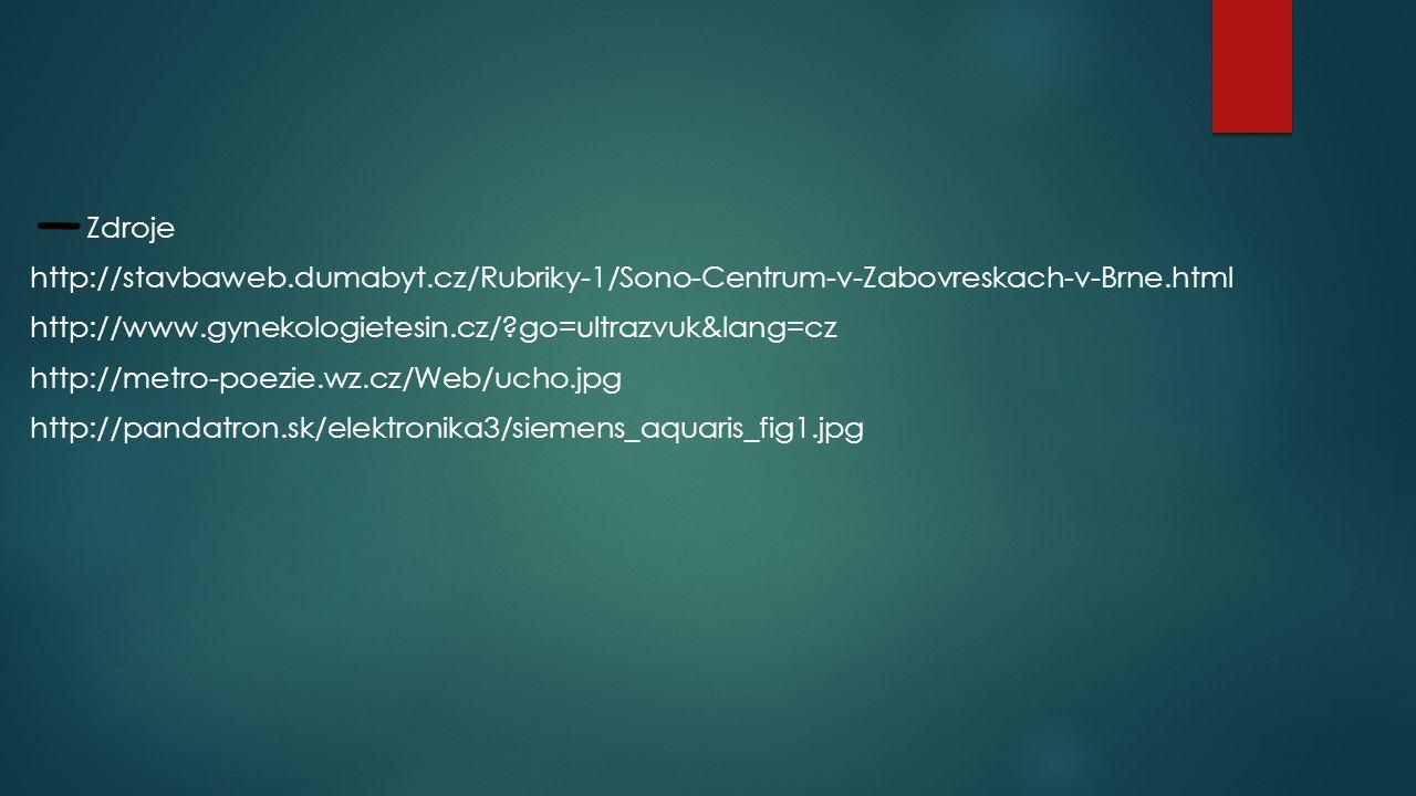 Zdroje http://stavbaweb. dumabyt
