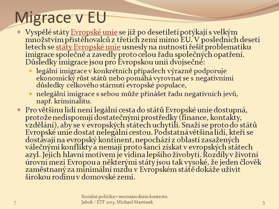 Migrace v EU