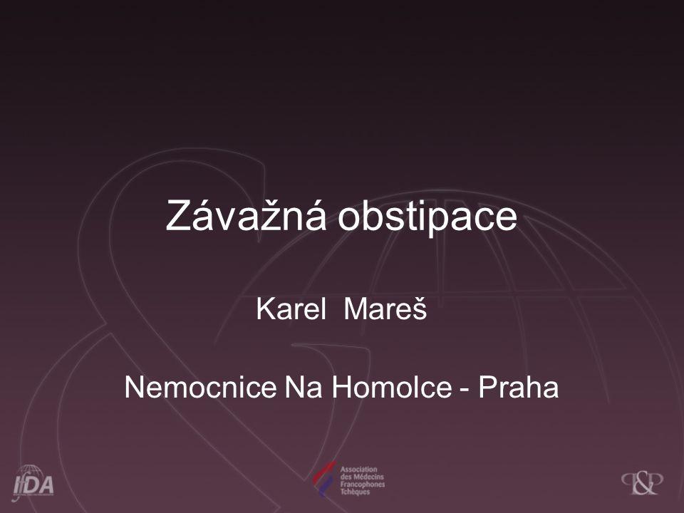 Karel Mareš Nemocnice Na Homolce - Praha