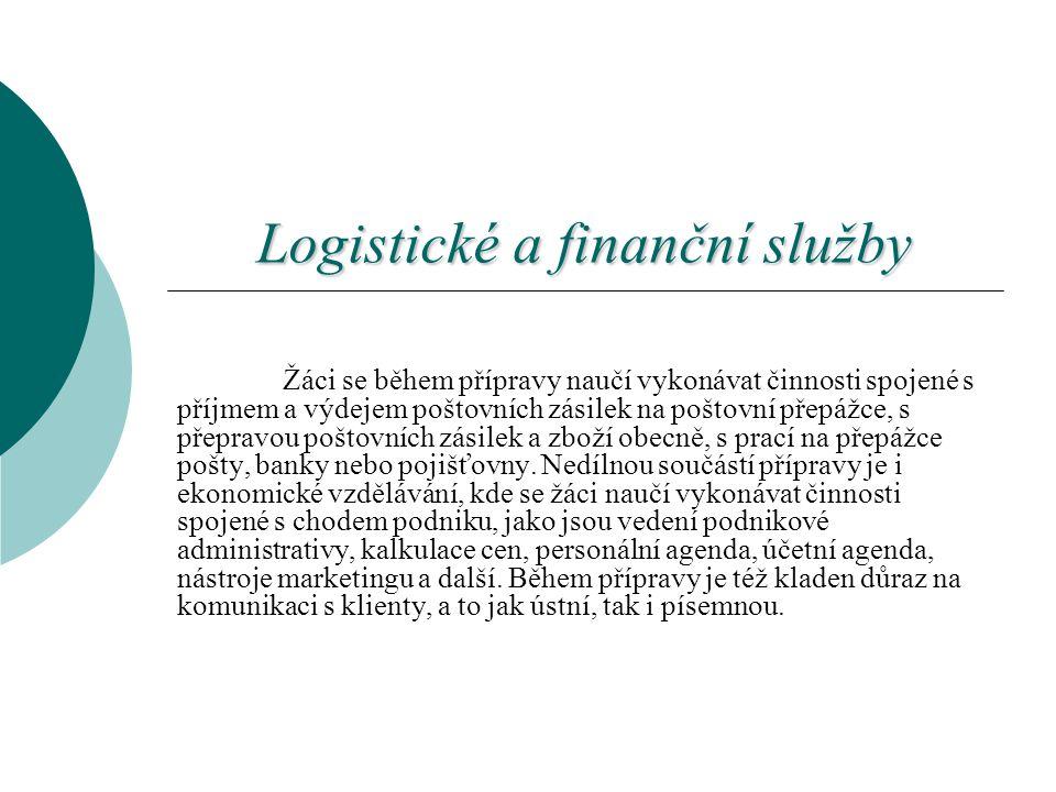 Logistické a finanční služby