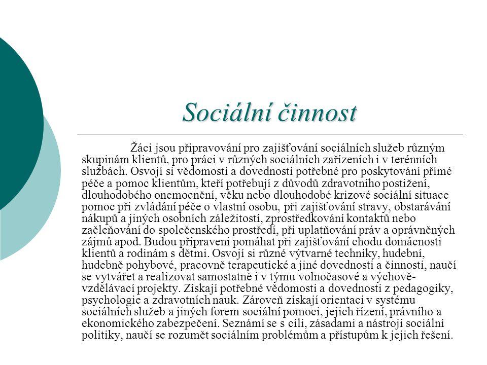 Sociální činnost