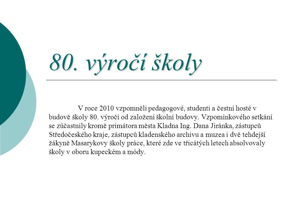 80. výročí školy
