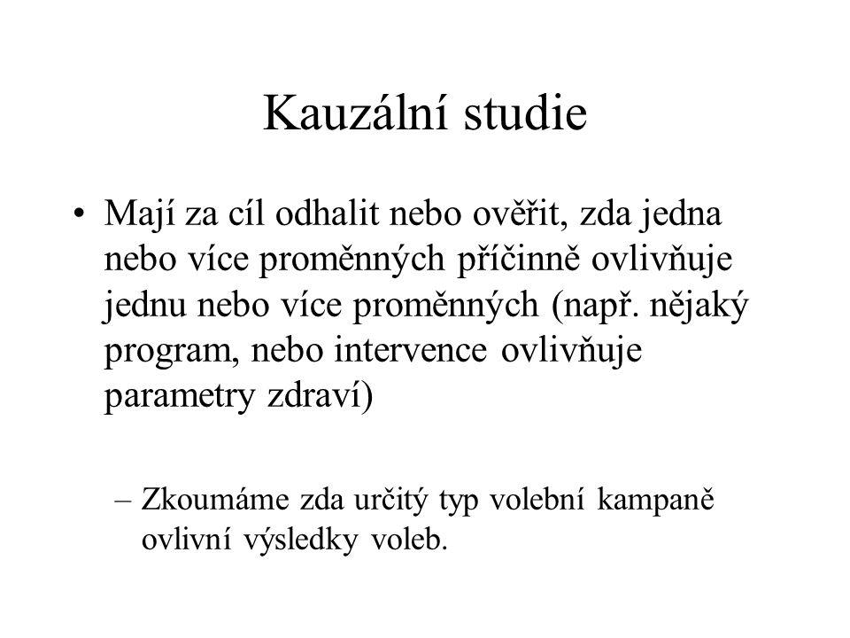 Kauzální studie