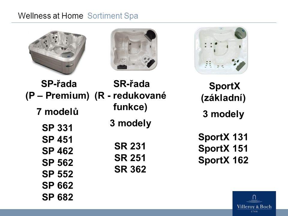 SP-řada (P – Premium) 7 modelů SP 331 SP 451 SP 462 SP 562 SP 552