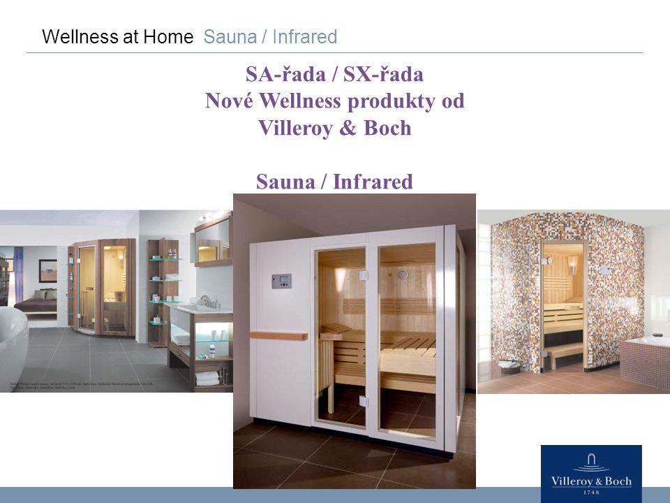 Nové Wellness produkty od Villeroy & Boch
