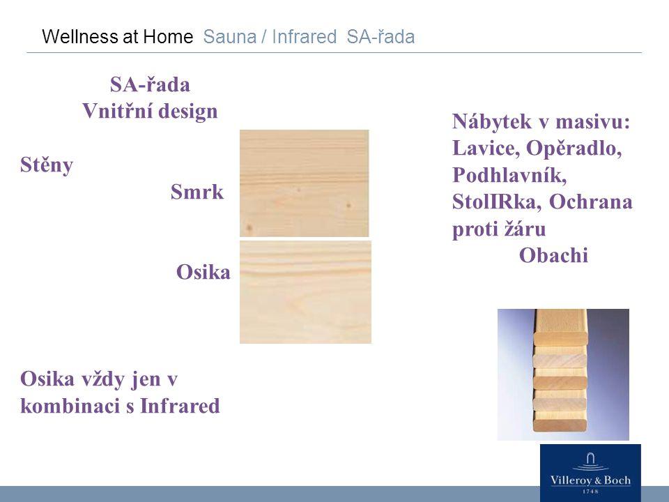 SA-řada Vnitřní design