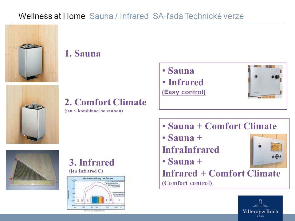 Sauna + Comfort Climate Sauna + InfraInfrared