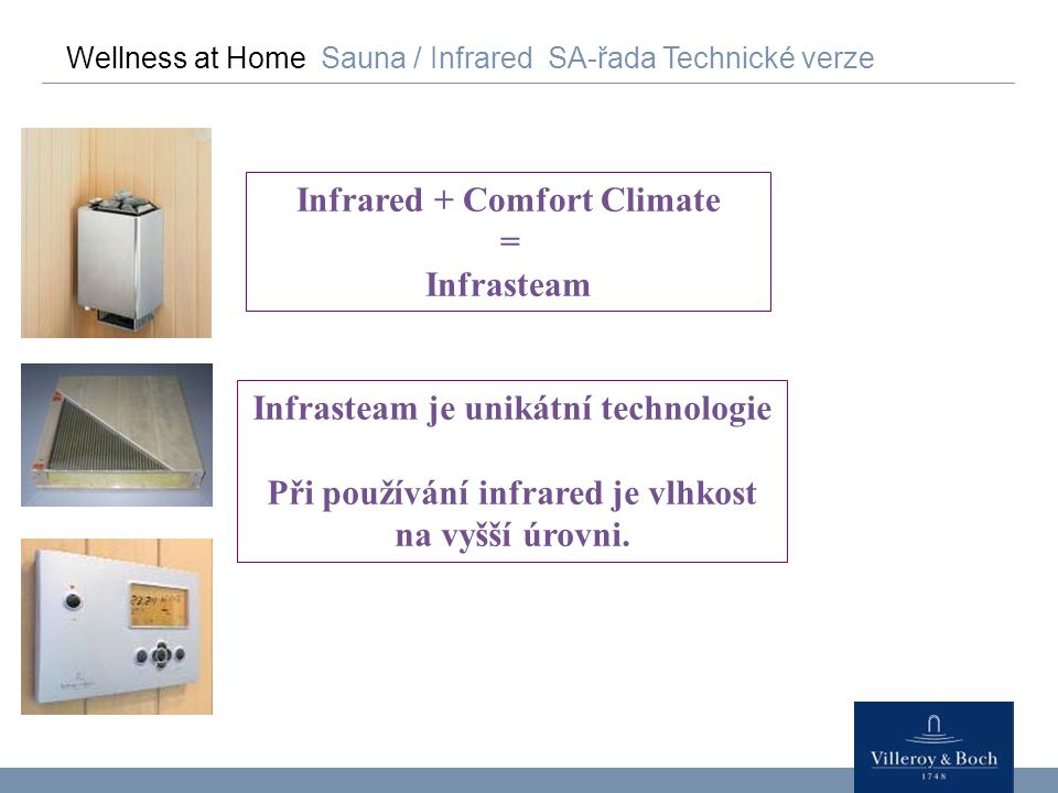 Infrared + Comfort Climate Infrasteam