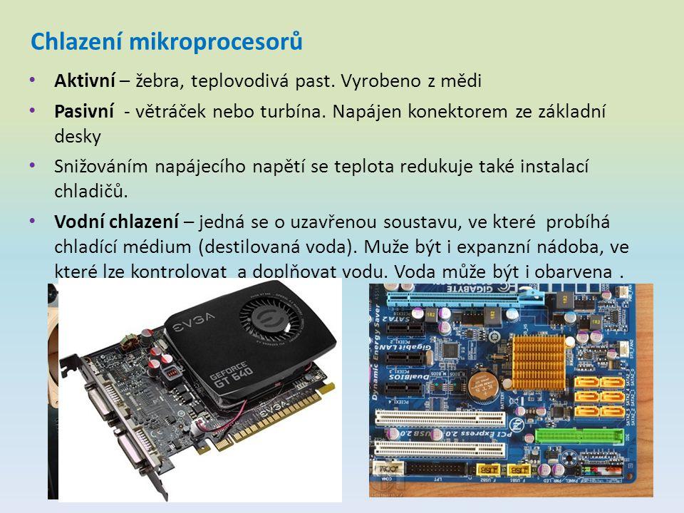 Chlazení mikroprocesorů