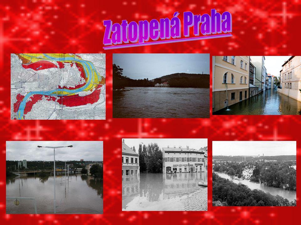 Zatopená Praha