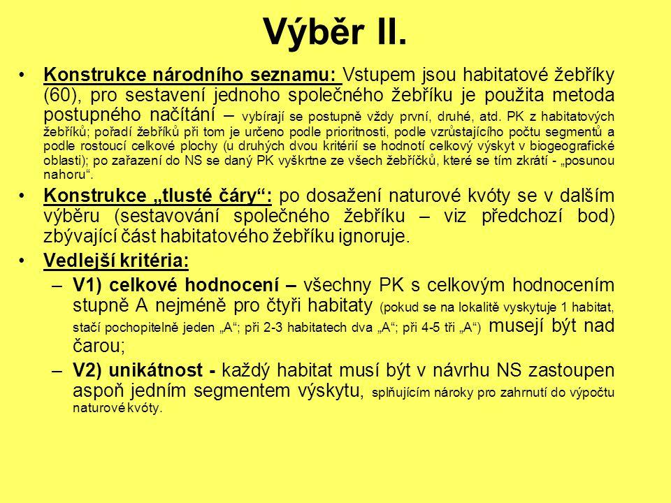 Výběr II.