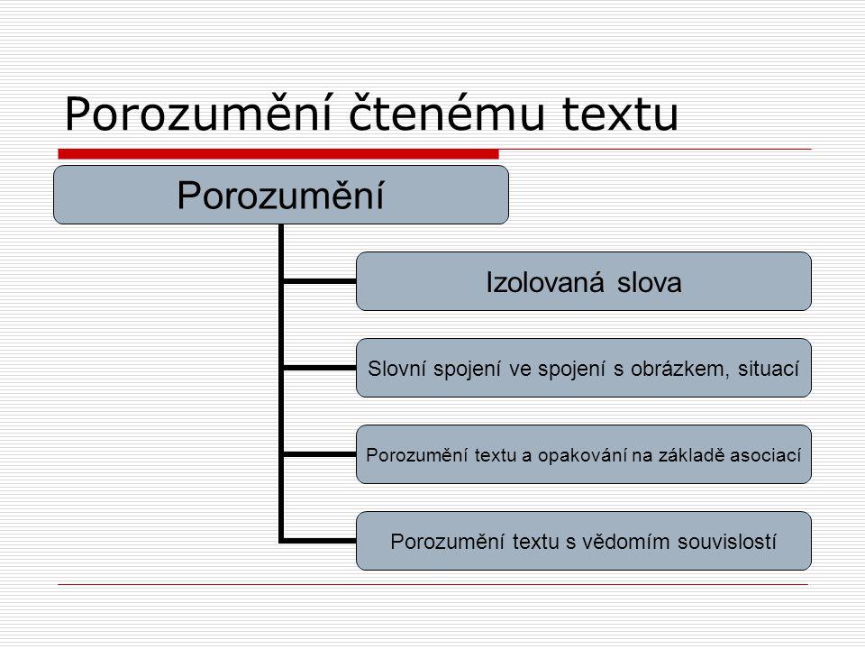 Porozumění čtenému textu