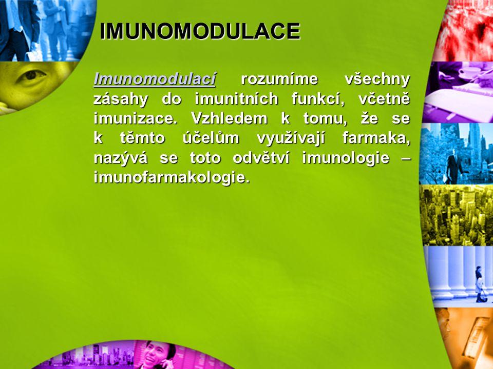 IMUNOMODULACE