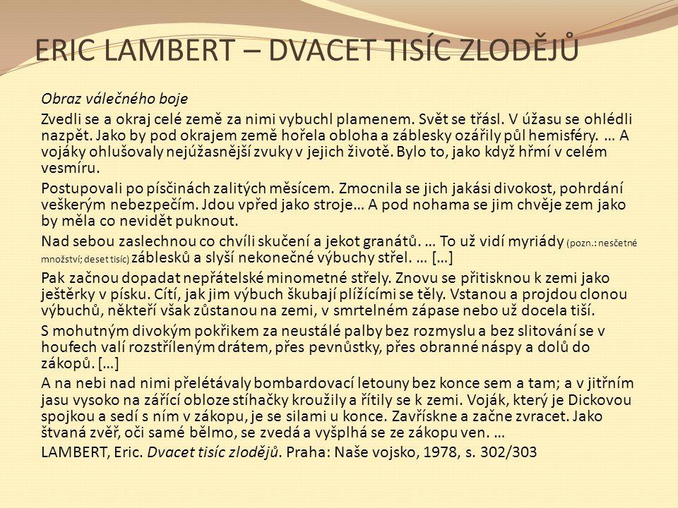 ERIC LAMBERT – DVACET TISÍC ZLODĚJŮ