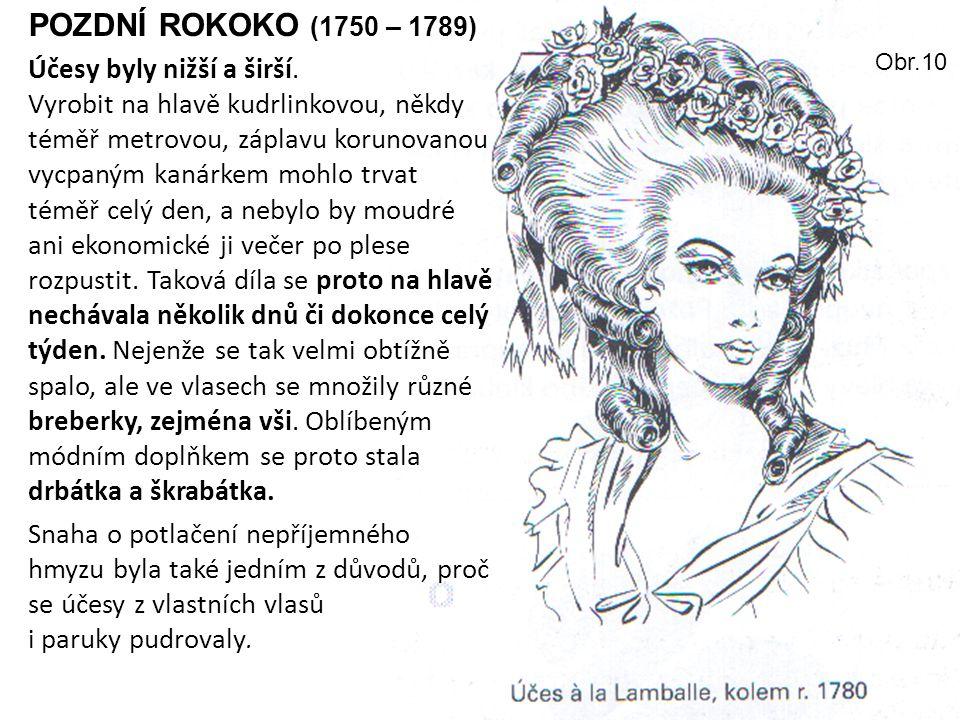 POZDNÍ ROKOKO (1750 – 1789)