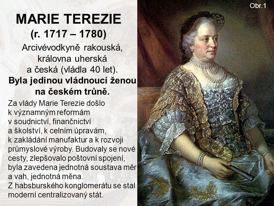 MARIE TEREZIE (r. 1717 – 1780) Obr.1.