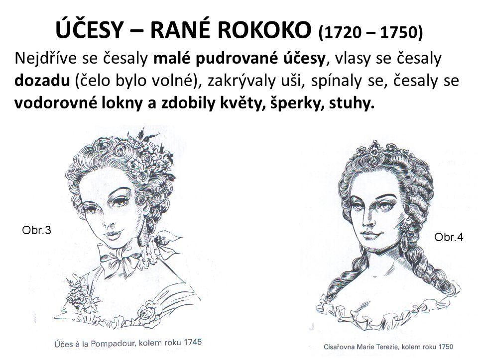 ÚČESY – RANÉ ROKOKO (1720 – 1750)