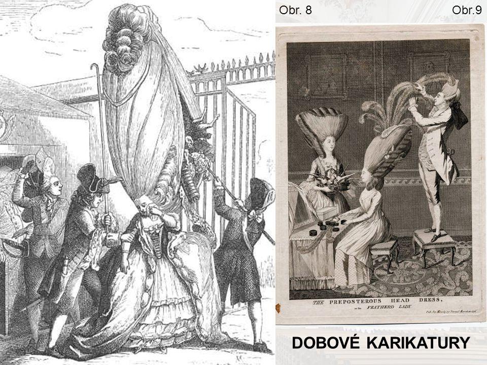 Obr. 8 Obr.9 DOBOVÉ KARIKATURY