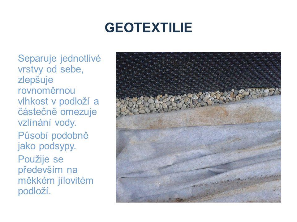Zdroje geotextilie.